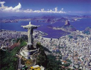 christ the redeemer welcomes all visitors to Rio with open arms